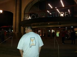 Yes, I wore my Alabama Storm Chasers t-shirt to see Into the Storm!