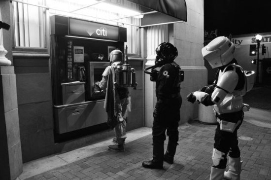 We really need more ATMs installed in the Death Star.
