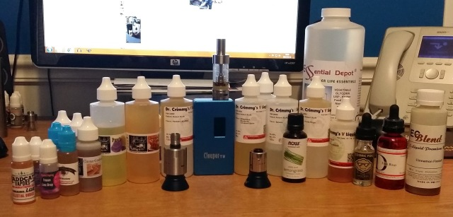 Problem? What problem? I don't have a problem! ‪#‎VapeLife‬ ‪#‎VapeOn‬ ‪#‎ForeverVaping‬
