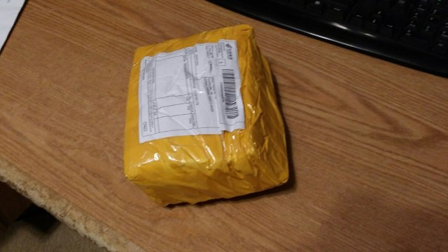 Ha! Fooled you USPS! My package of cocaine arrived from China! Just kidding USPS! No, seriously, just kidding.
